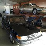 Mais que fait cette Saab ici ?