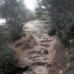 Passage rocailleux