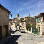 Arrivée à Saint-Martin-de-Brôme