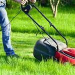 Rasen mähen und leichte Gartenarbeiten