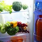 Kühlschrank auffüllen vor Ihrer Rückkehr