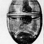 l'urne remise à Don Carlos en 1894 ( il y a du vermeil à la liaison des 2 parties)