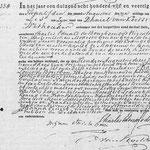 acte de décès du 10 aout 1845