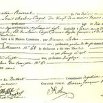acte de décès du 8 juin 1795