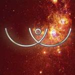 SIAS - Weibliche Energie. Visualisiere SIAS, rufe die göttliche Mutter Shakti an, dir weibliche Energie zu senden. Lade dich auch mit ELTA, der männlichen Energie auf und bitte Jesus, den Sohn, die Energien auszugleichen, damit du deine Mitte findest.