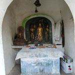 三道宝階の仏像