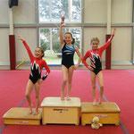 AK 8 - Mädels: Marei, Lena, Amanda