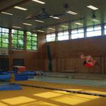 Julia beim Salto