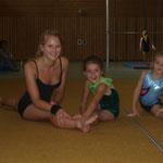 Leonie mit Valentina und Fee