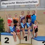 Trainingsgemeinschaft: mit den Weilheimer Turnerinnen