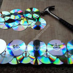 cd kullanarak yapılan farklı tasarımlar
