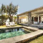 Poolvilla auf Mauritius