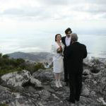 Heiraten am Tafelberg bei Kapstadt