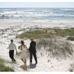 Hochzeit am Strand, Kapstadt, Südafrika