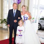 Braut beim Einzug