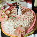 www.make-my-day.at - Hochzeitstorte