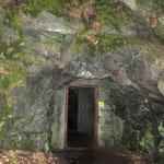 Stollen zur Buchberger Leite: Dunkelgrüner Palit