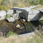 Abzweigung des Wassergrabens