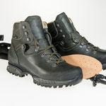 Walking items: Trekking boots, absorbent cedar insoles, adjustable trekking poles