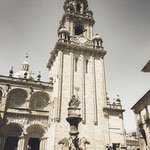 Impressions of the place of pilgrimage of Santiago de Compostela