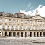 City hall on Obradoiro square