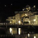 Luarca at night