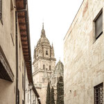 Clock tower of the Cathedral, Salamanca