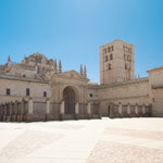 Cathedral's square of Zamora