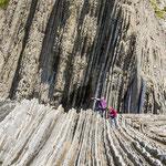 Fascinating geology and landscape at Zumaias hidden beach