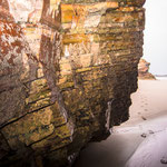 Praia das Catedrais (Beach of the Cathedrals) outside of Ribadeo