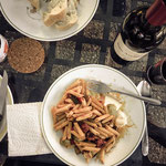 Pilgrim's dinner at El Real de la Jara