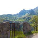 Mountain view on Sotres village, Picos de Europa National Park