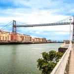 Puente de Vizcaya in Portugalete (Biscay bridge built in 1893)