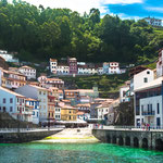 Picturesque fishing town of Cudillero
