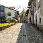 Historic street at Concha village