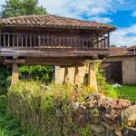 Typical Asturian granary