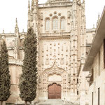 Portal of the new Cathedral of Salamanca