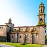 Cistercian monastery at Sobrado dos Monxes