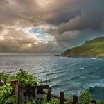 Weather change on the coast