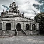 Parroquia de Santa María de Villabad in Vilabade
