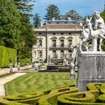 La Quinta de Selgas palace in Cudillero