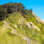 Uphill towards viewpoint Espírítu Santo