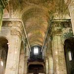 Empty church building of the Cistercian monastery