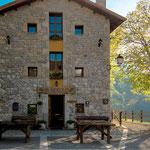 Albergue at Sotres village