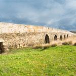 Roman bridge when approaching Valdesalor