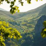 Mountain view from Sotres village, Picos de Europa National Park