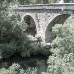 Old bridge, leaving La Robla