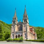 Basilica of Santa María la Real de Covadonga, Picos de Europa National Park