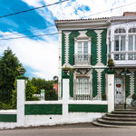 Tiled house in Cudillero