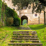 Passage at Zenarruza monastery